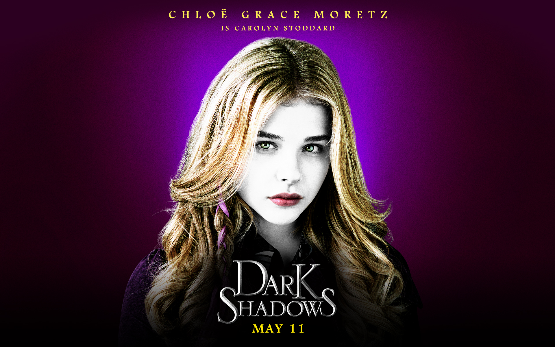 Dark Shadows wallpapers 19201200 Chloe Grace Moretz as Karolyn 1920x1200