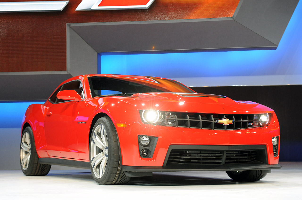 2012 Chevrolet Camaro ZL1 Pictures and Wallpapers 1280x850