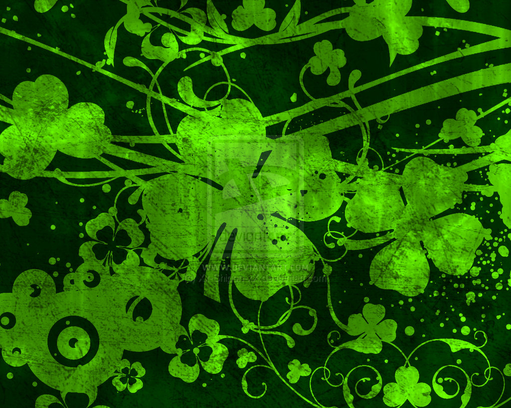Neon St Patricks Day Backgrounds St patricks day background 1024x819