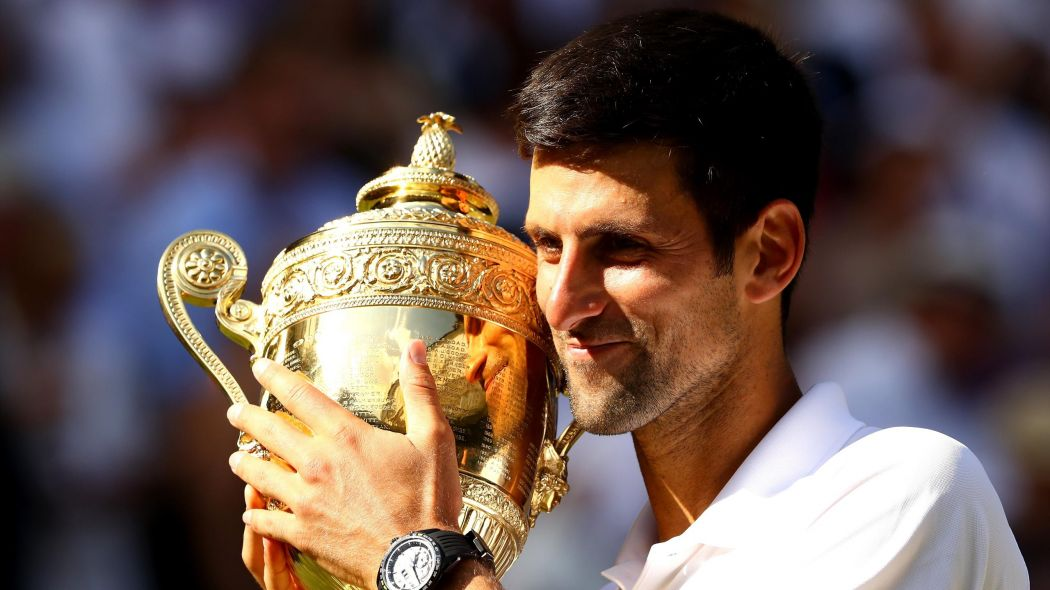 Wimbledon 2018 Novak Djokovic steamrollers Kevin Anderson to win 1050x590