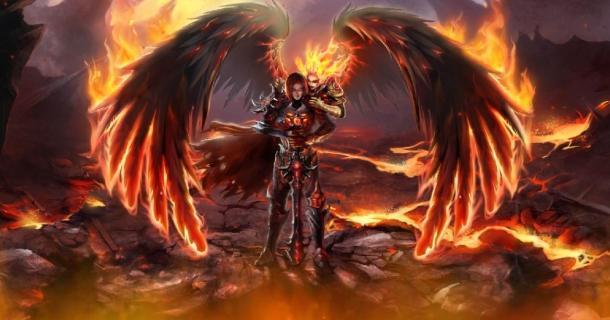 Fallen Angels Screensaver   Screensavergiftcom 610x320