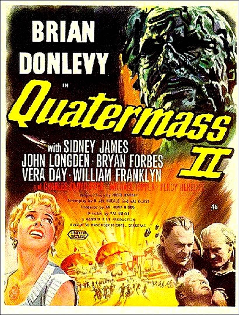 QUATERMASS II   Alien Invasion B Movie Posters 819x1080