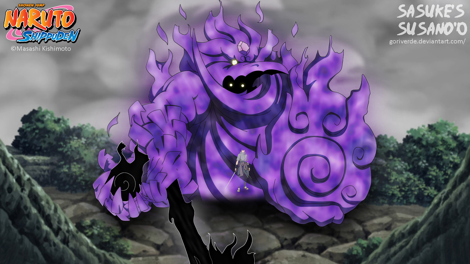 50+] Naruto Susanoo Wallpaper on WallpaperSafari