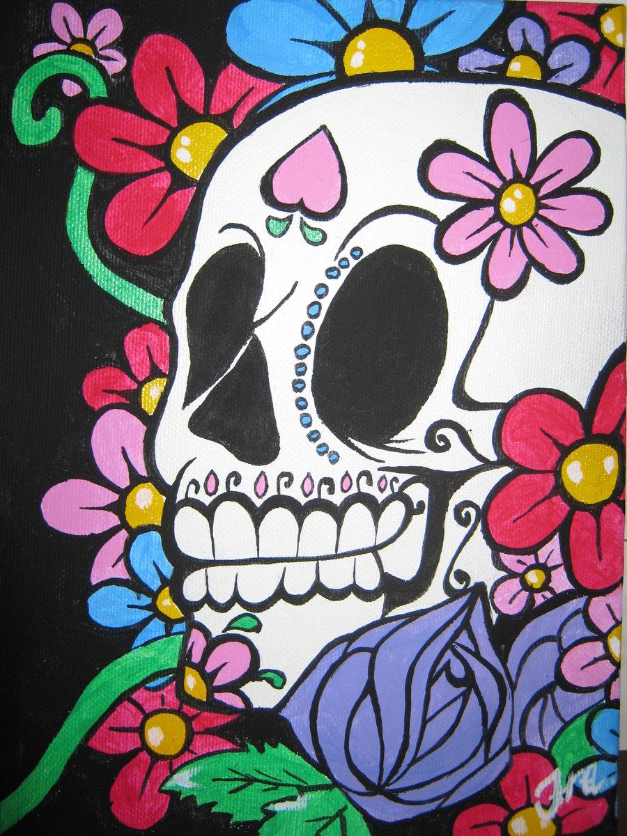 Free download Sugar Skull Wallpaper Iphone Sugar skull by