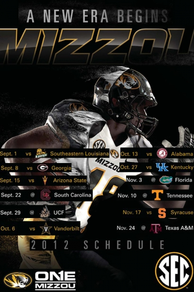 Mizzou College Sports TigerBoardcom iphone football background 400x600