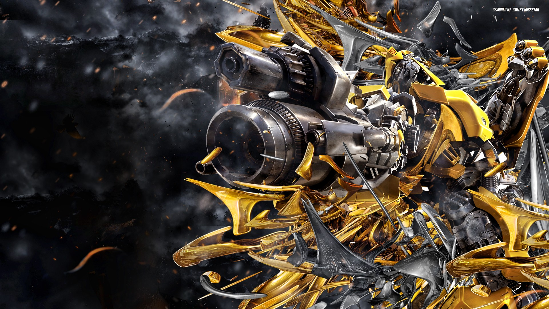 Transformers Wallpaper Bumblebee Car   Viewing Gallery 1920x1080