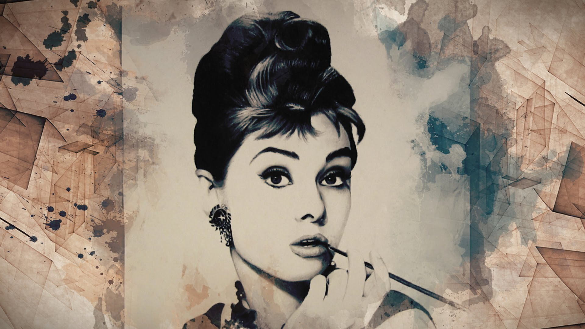 Audrey Hepburn Wallpaper For Computer 1920x1080