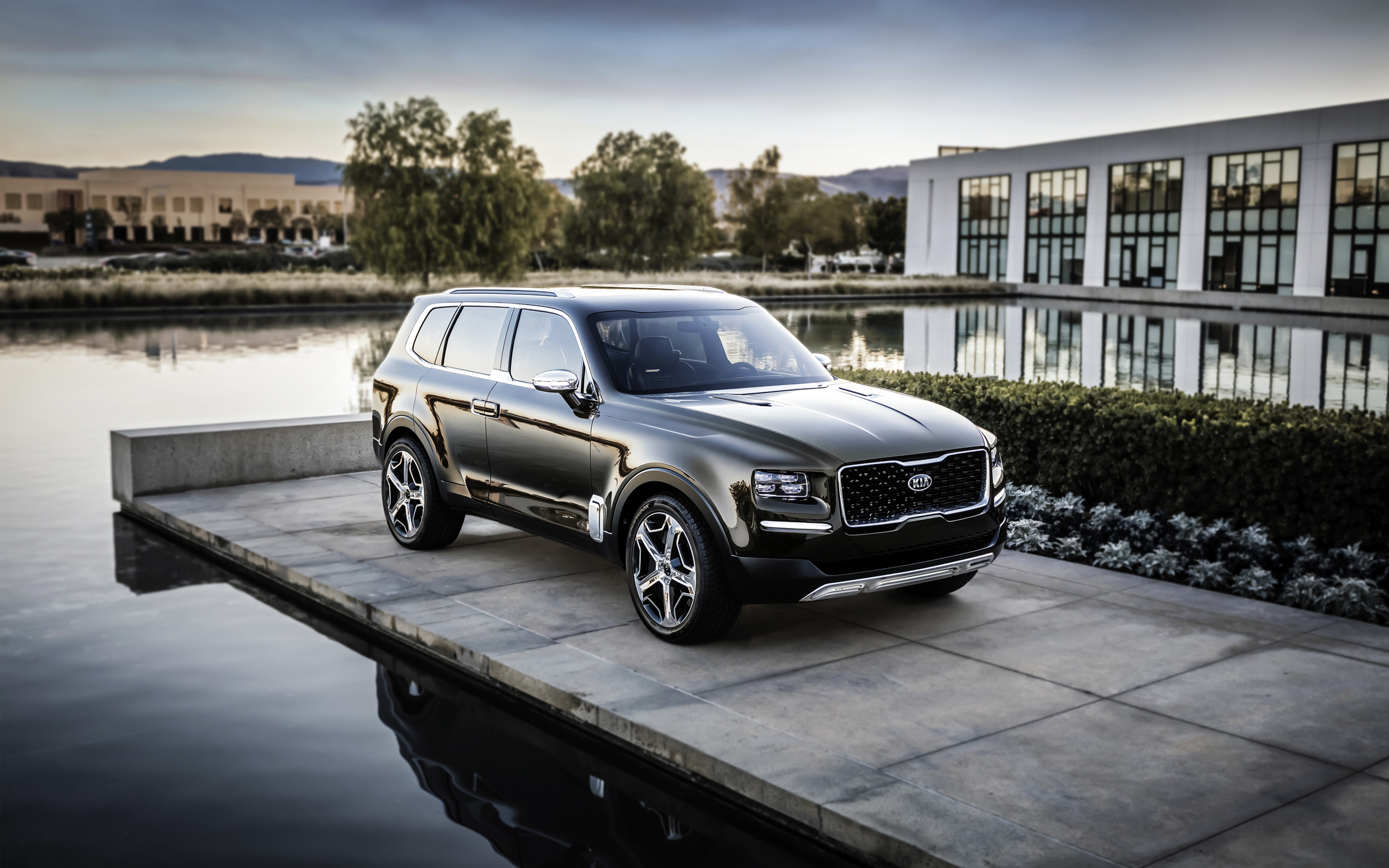 2016 Kia Telluride Concept Wallpaper HD Car Wallpapers ID 6117 2880x1800