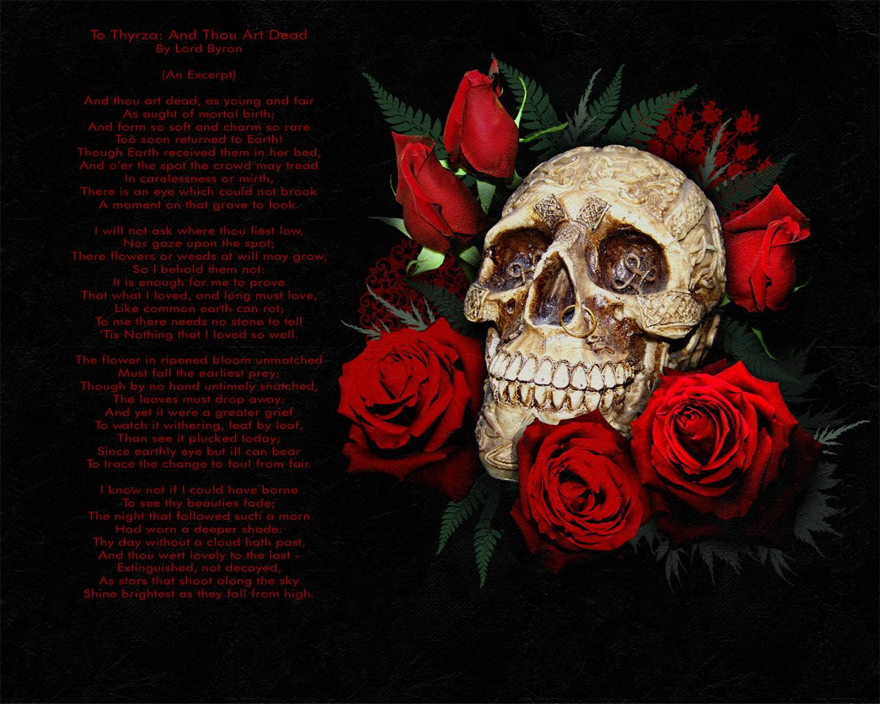 Labels Dark Wallpapers Skulls Wallpapers 1280x1024