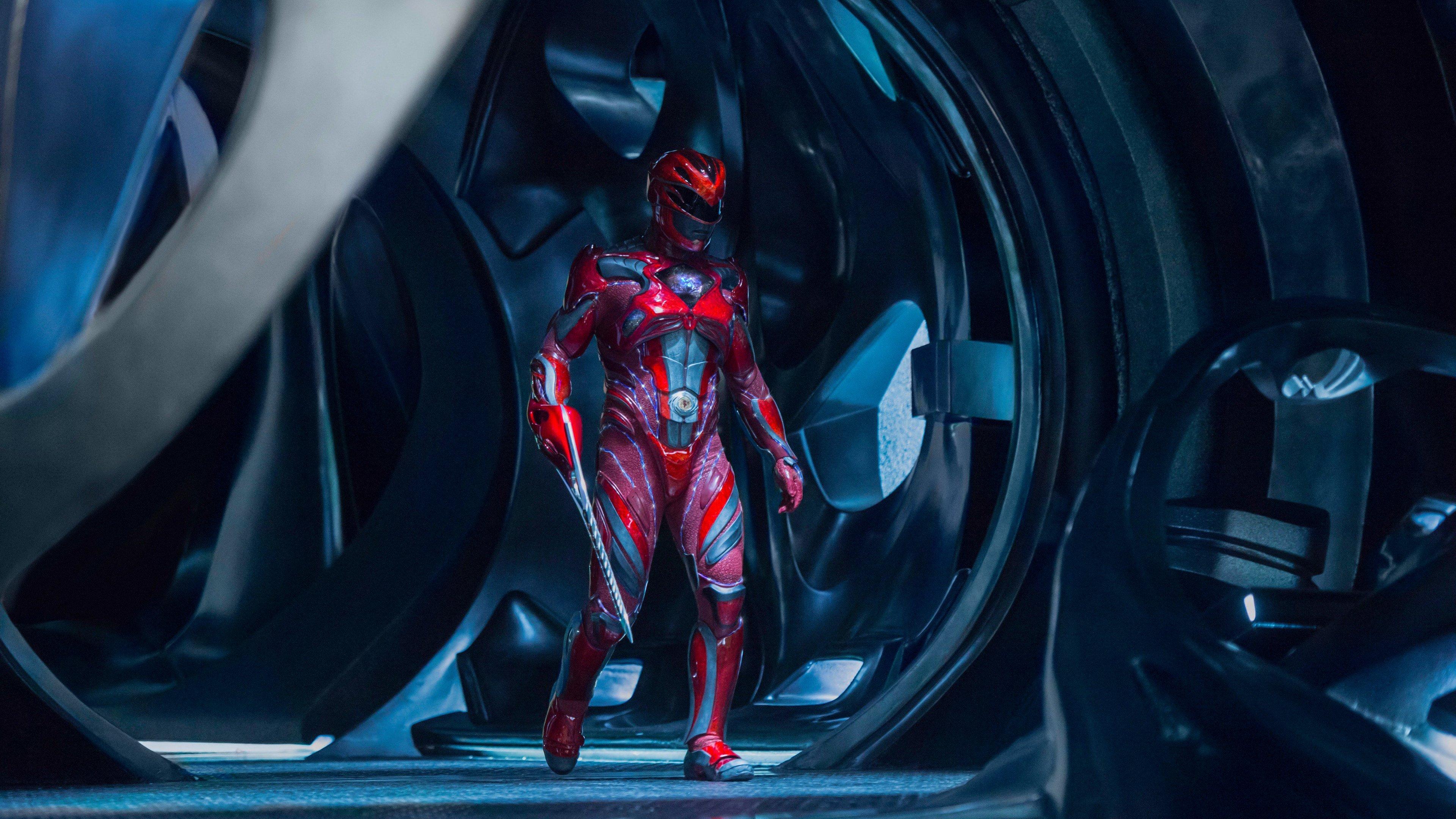 Wallpaper 4k Red Power Ranger 2017 movies wallpapers 4k 3840x2160