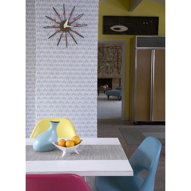 Tempaper Peel and Stick Wallpaper   Gio Silver 610x610