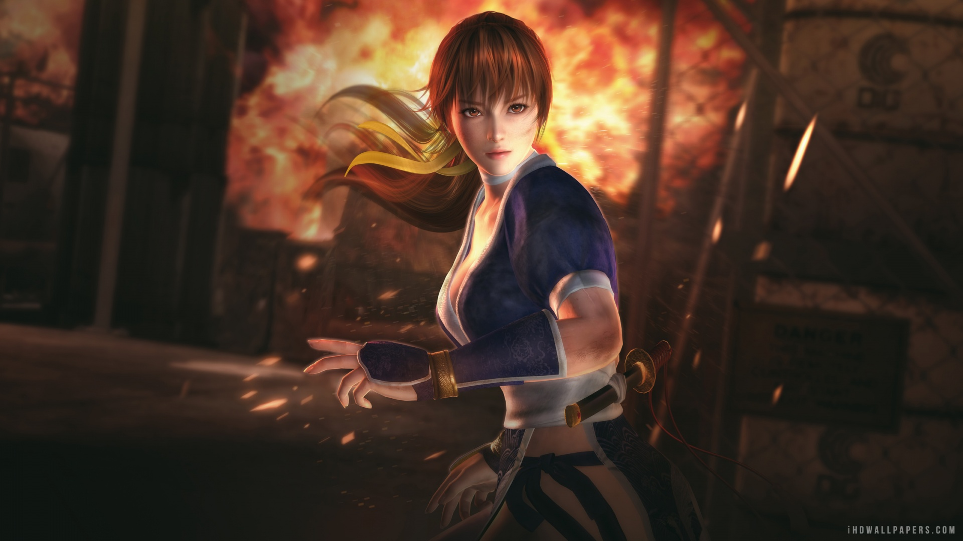 kasumi Dead or Alive 5 HD Wallpaper   iHD Wallpapers 1920x1080