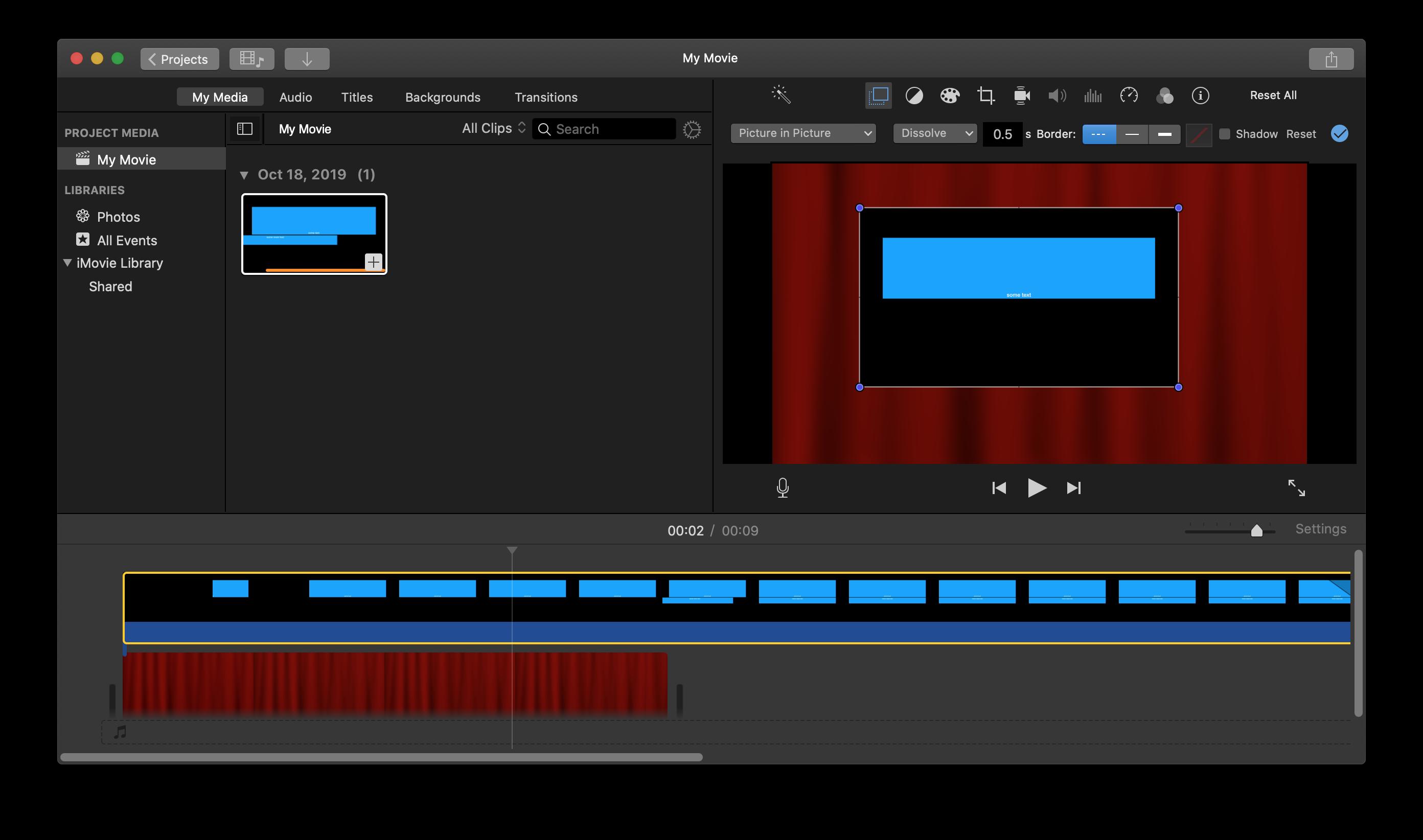 Prores 4444 transparent backgrounds broken in Keynote 92 MacOS 2784x1644