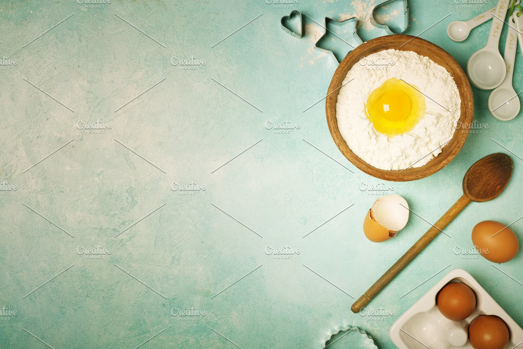 Baking background High Quality Food Images Creative Market 1820x1214