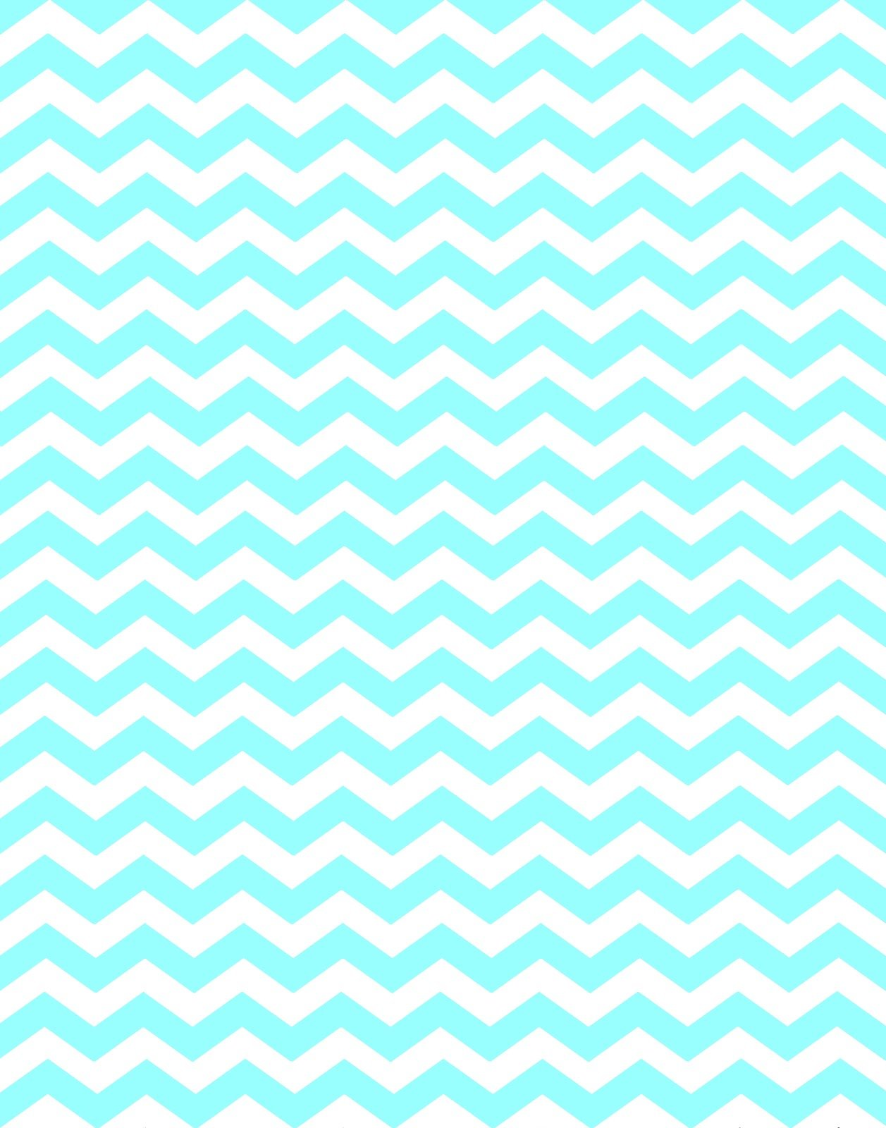 Mint green chevron background