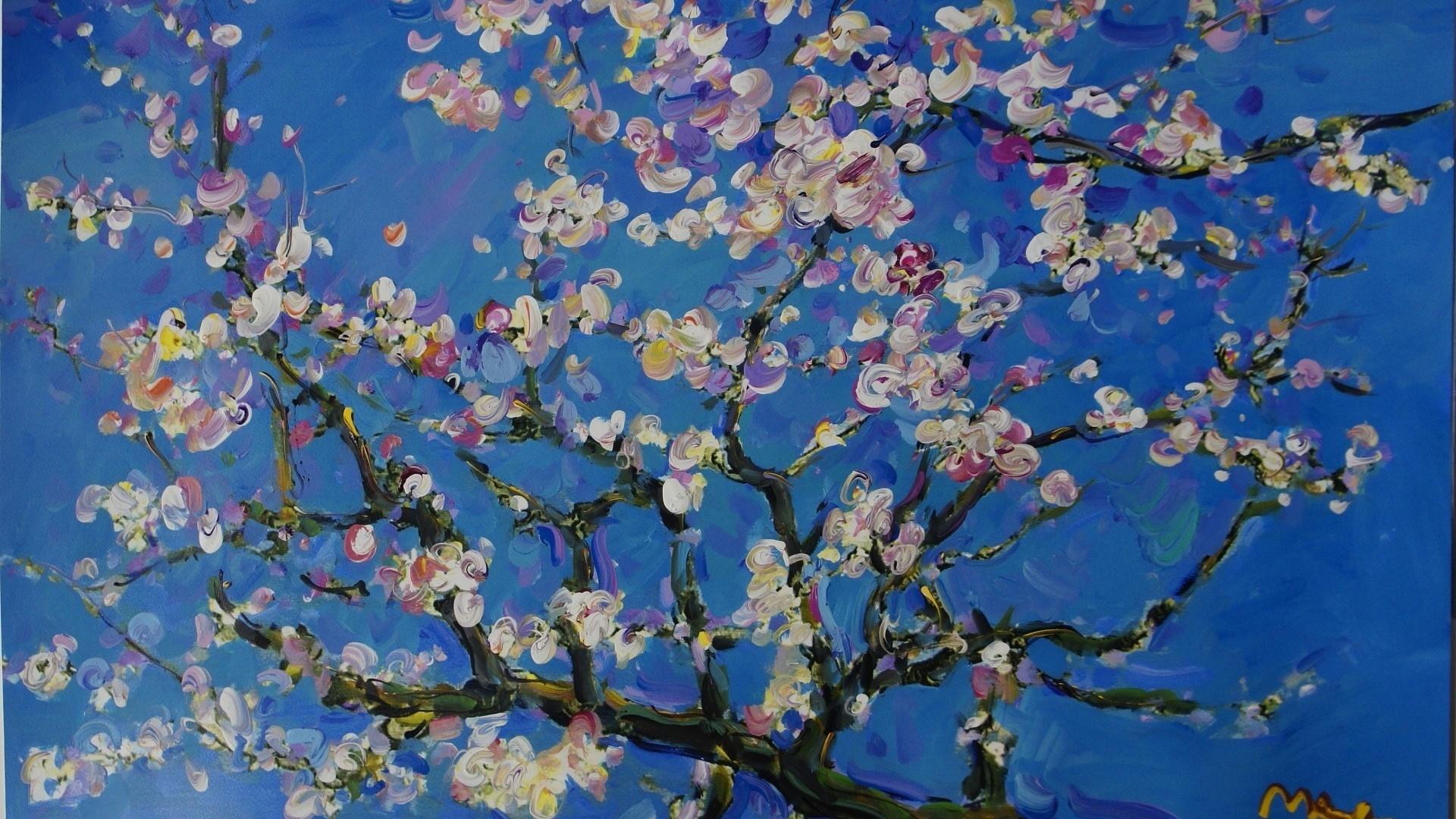 1920x1080 Arts Paintings Vincent Van Gogh Blossom 1920x1080
