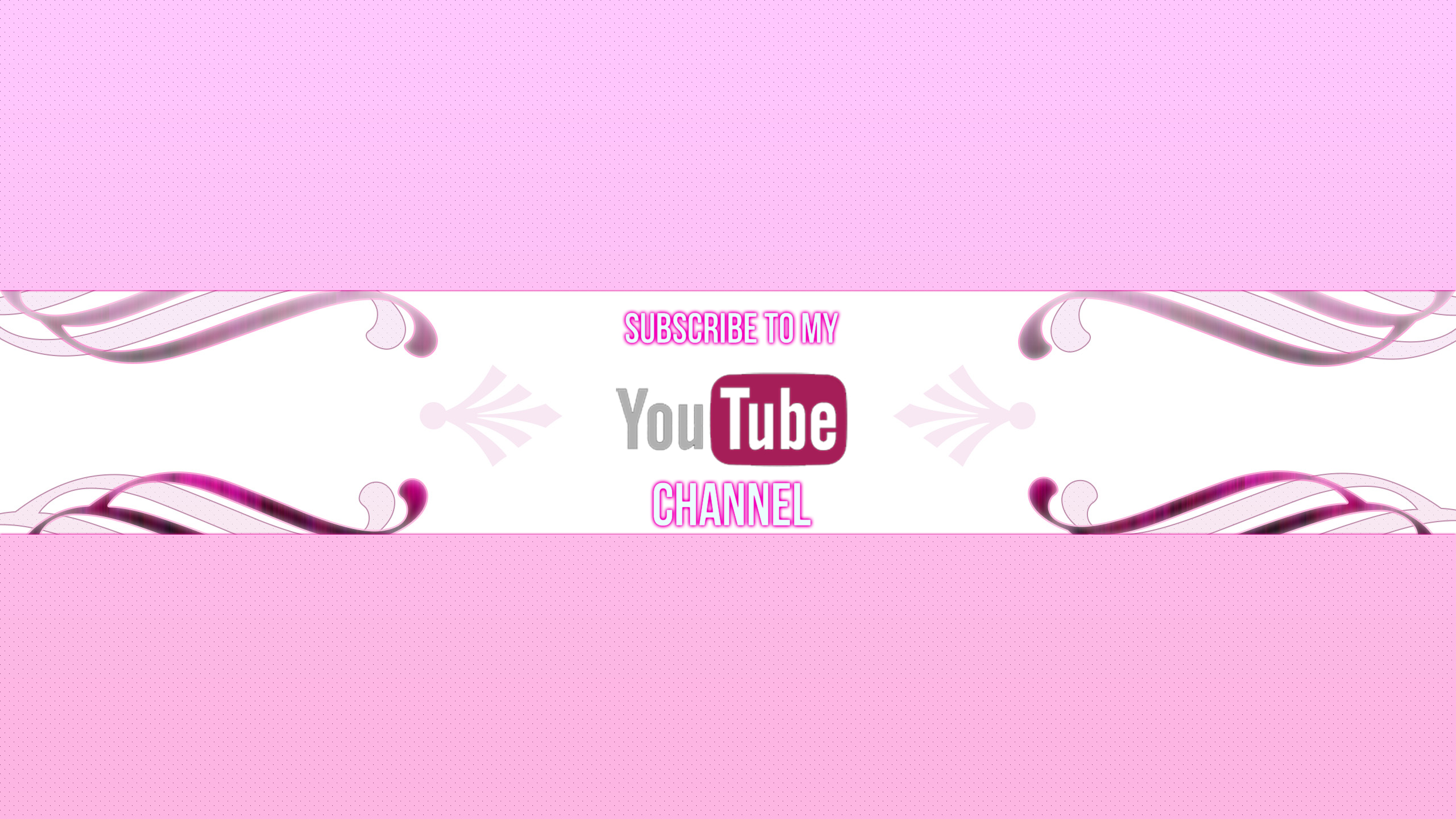 2048x1152 Youtube Channel Art Template 2560x1440