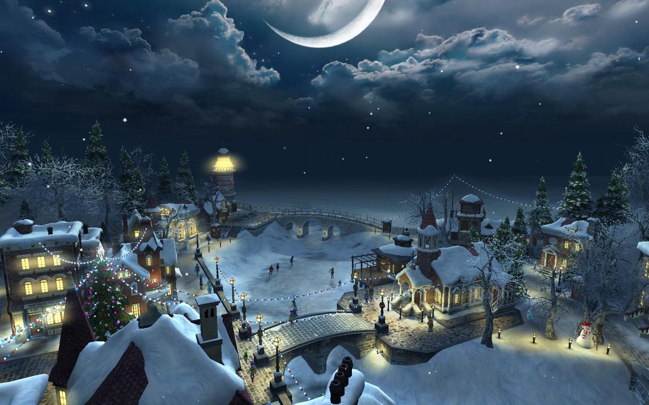 Anime Christmas Desktop Wallpaper | animewallpaper.website
