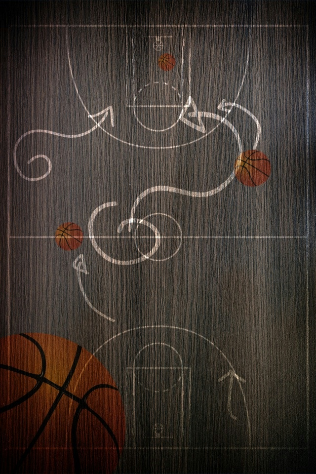 Basketball Map iPhone 4 Wallpaper and iPhone 4S Wallpaper 640x960