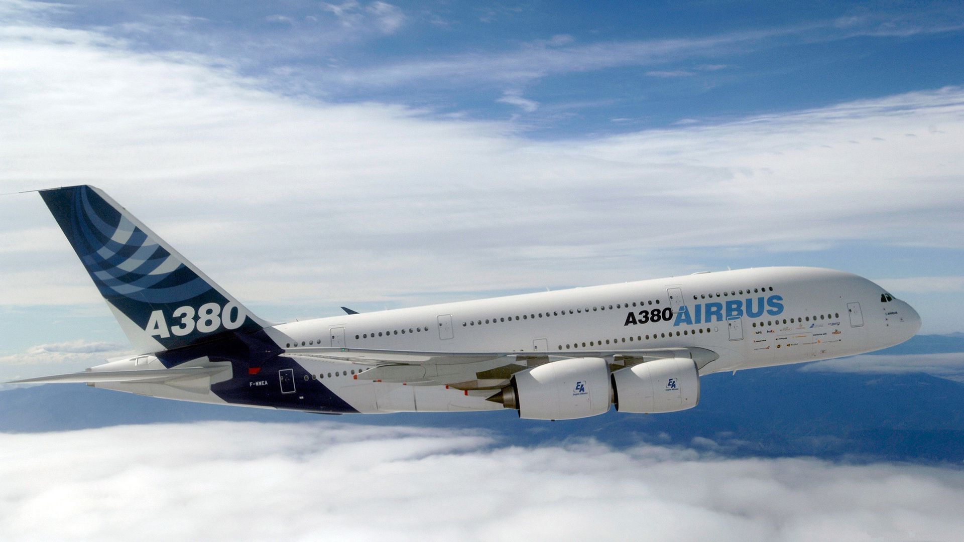 Airbus A380 Aircraft Wallpaper Aircraft Wallpaper Background Photo 1920x1080