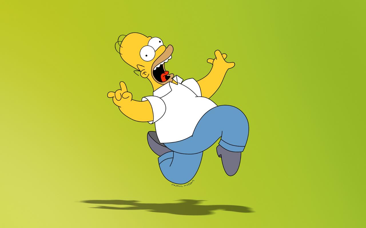 Funny Homer Simpson HD Wallpapers Desktop Wallpapers 1280x800