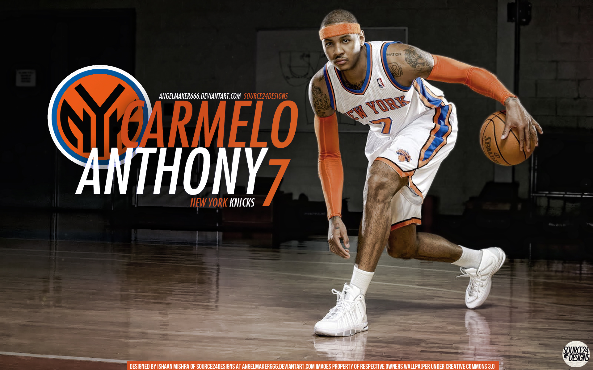 Carmelo Anthony Wallpaper Knicks - WallpaperSafari