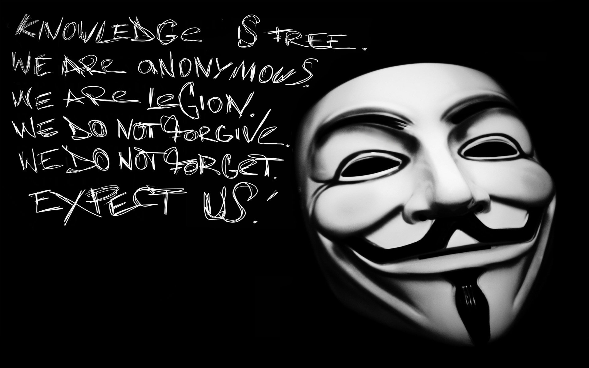 Anonymous Wallpaper 3d image gallery 1920x1200