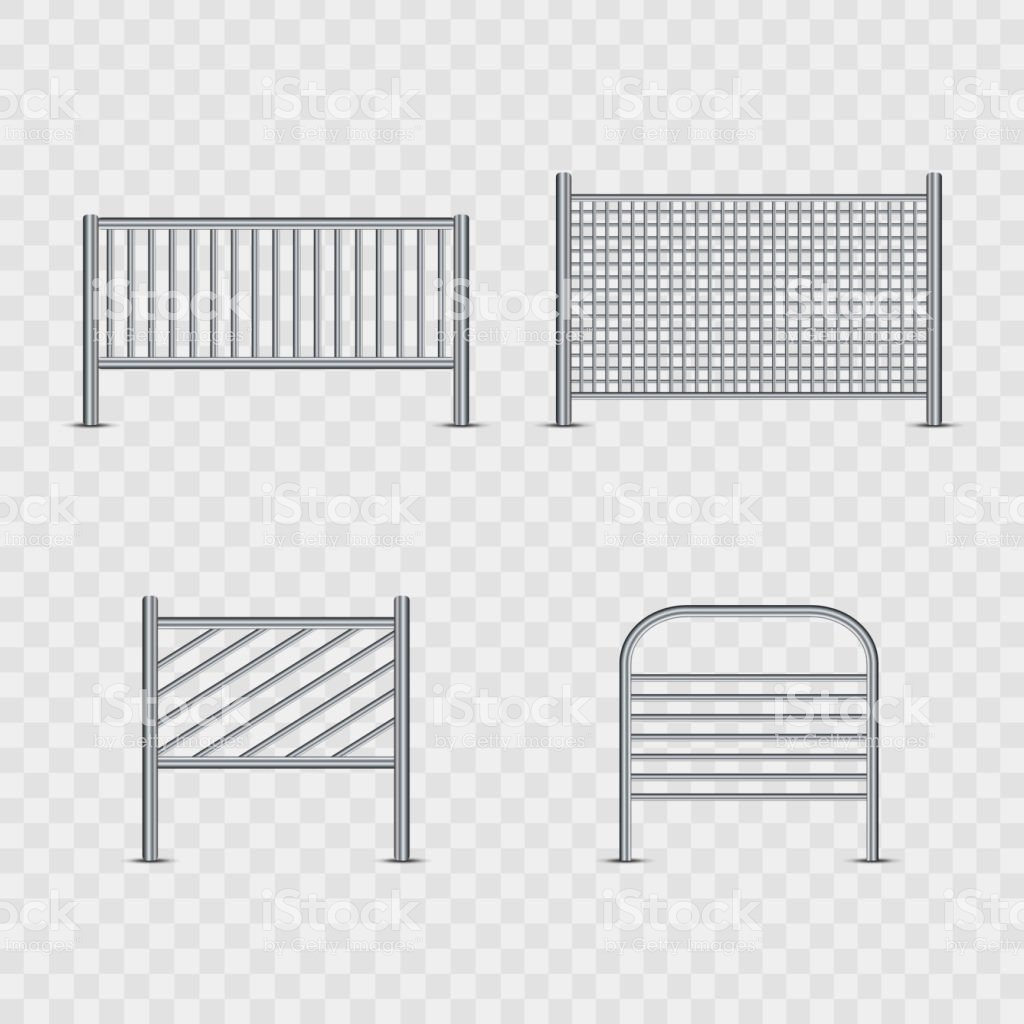 Vector Set Of Realistic Isolated Barricade For Decoration And 1024x1024