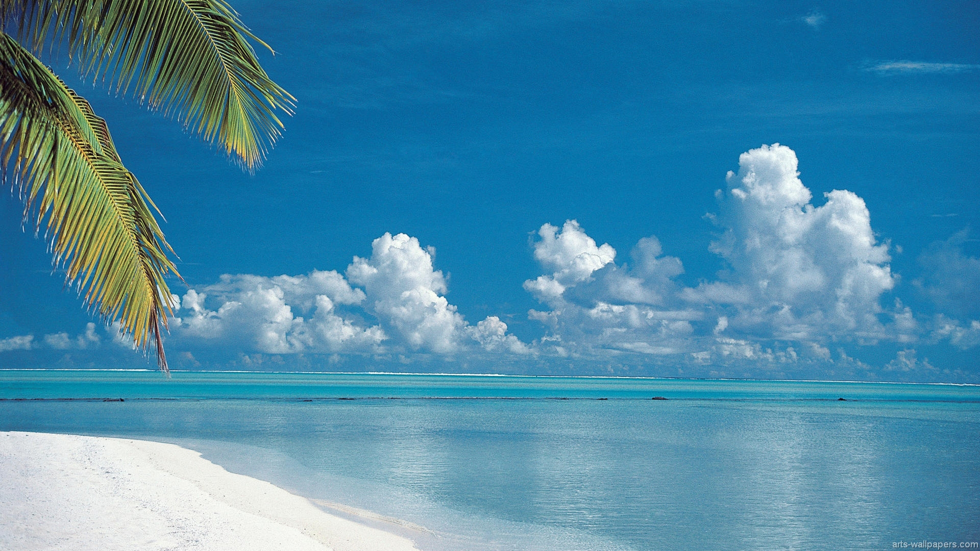 Hd Tropical Paradise Beach Pictures 1920x1080