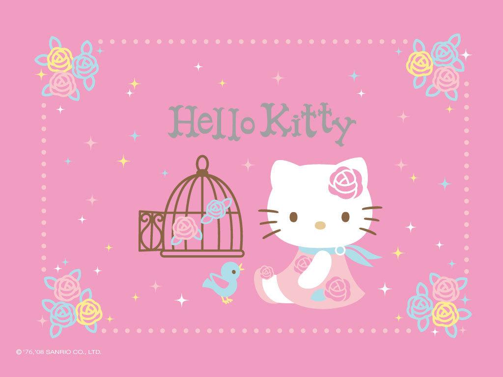 48 ] Rainbow Hello Kitty Wallpaper On WallpaperSafari