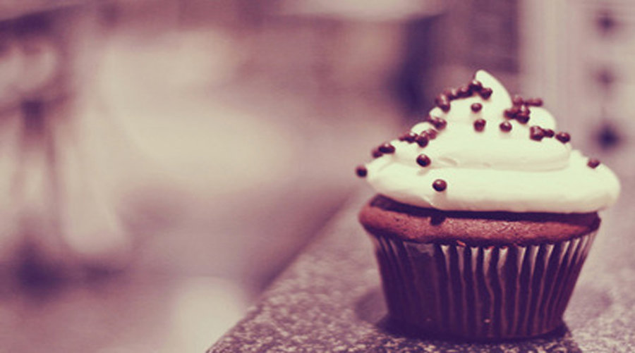 Wallpaper Cupcake de Chocolate by Lucy9o 900x501