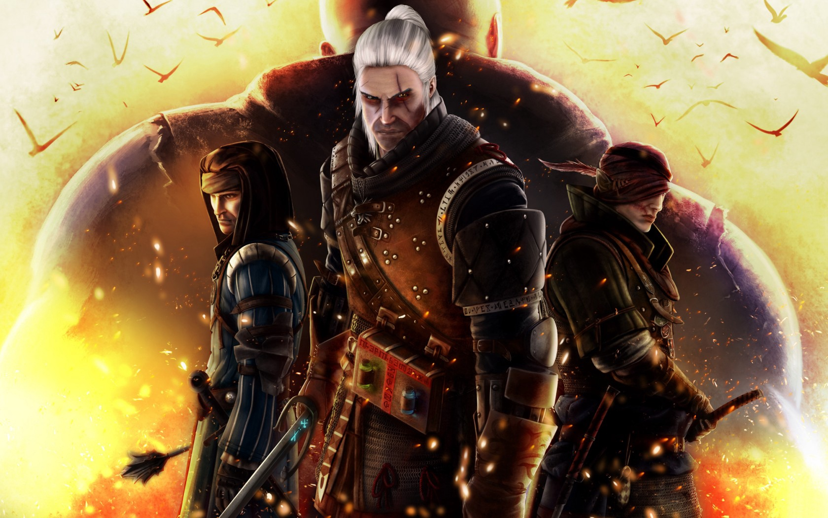 Download wallpaper 1680x1050 the witcher 2 assassins of kings 1680x1050
