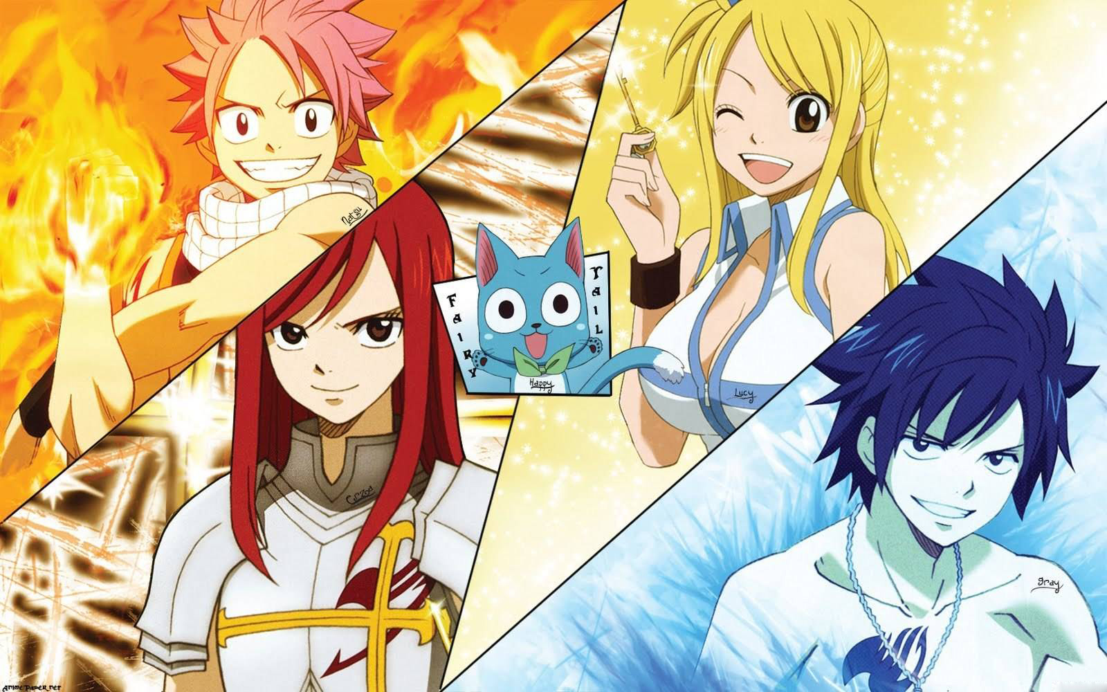 Fairy Tail HD Wallpaper for iphone HD Wallpaper 1600x1000
