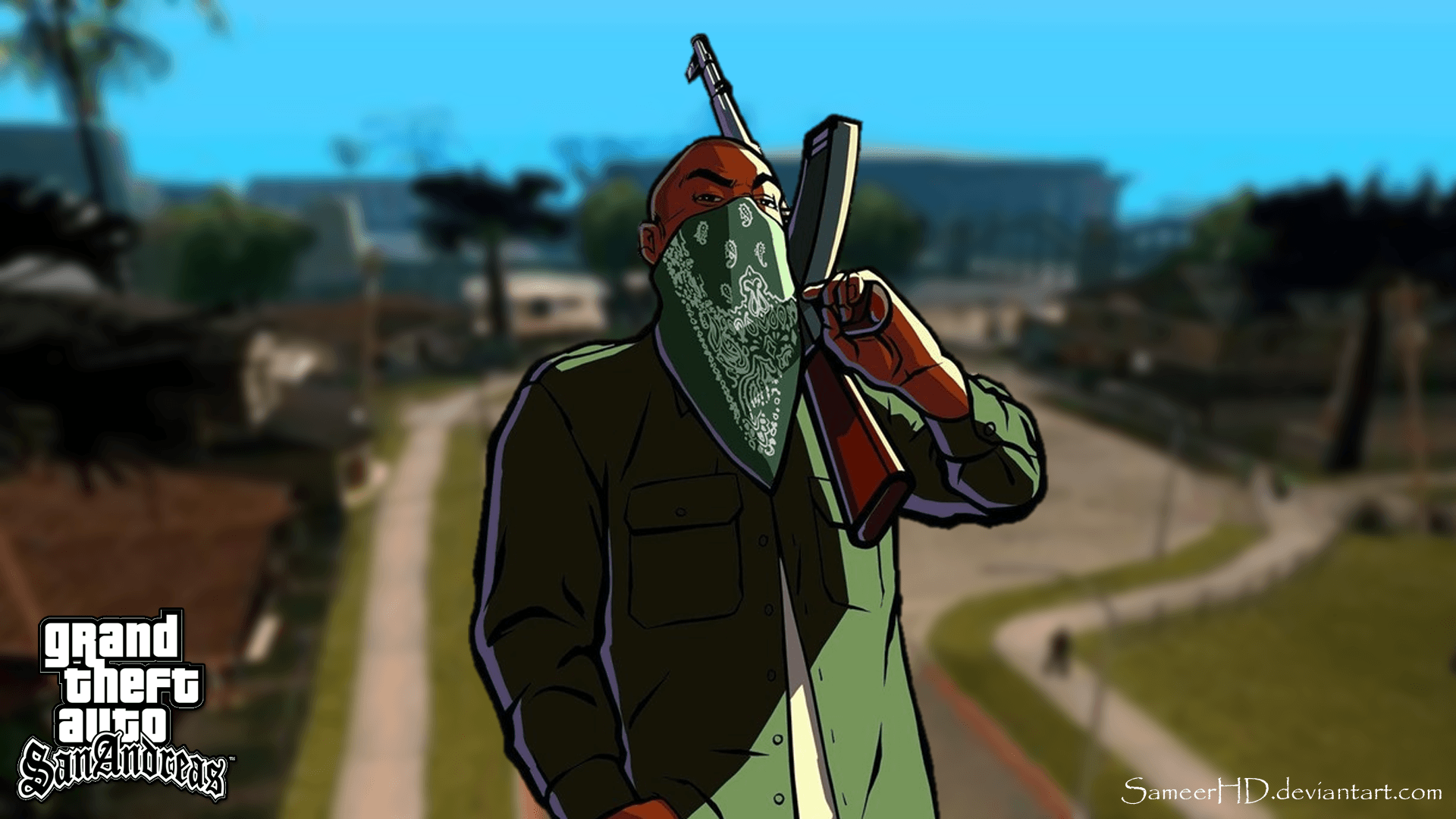 Free Download Grand Theft Auto San Andreas Wallpapers 1920x1080