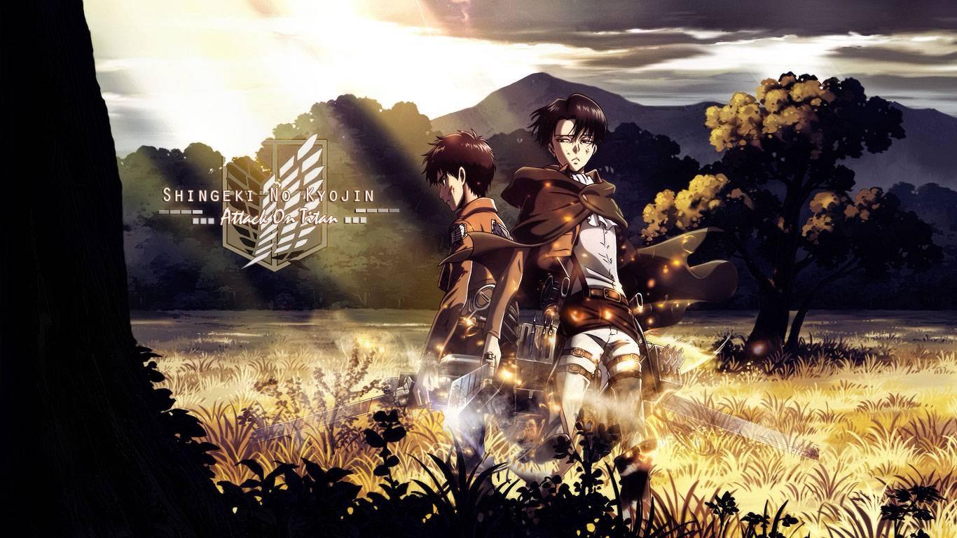 Eren and Levi Wallpaper of Eren and Levi 1366x768