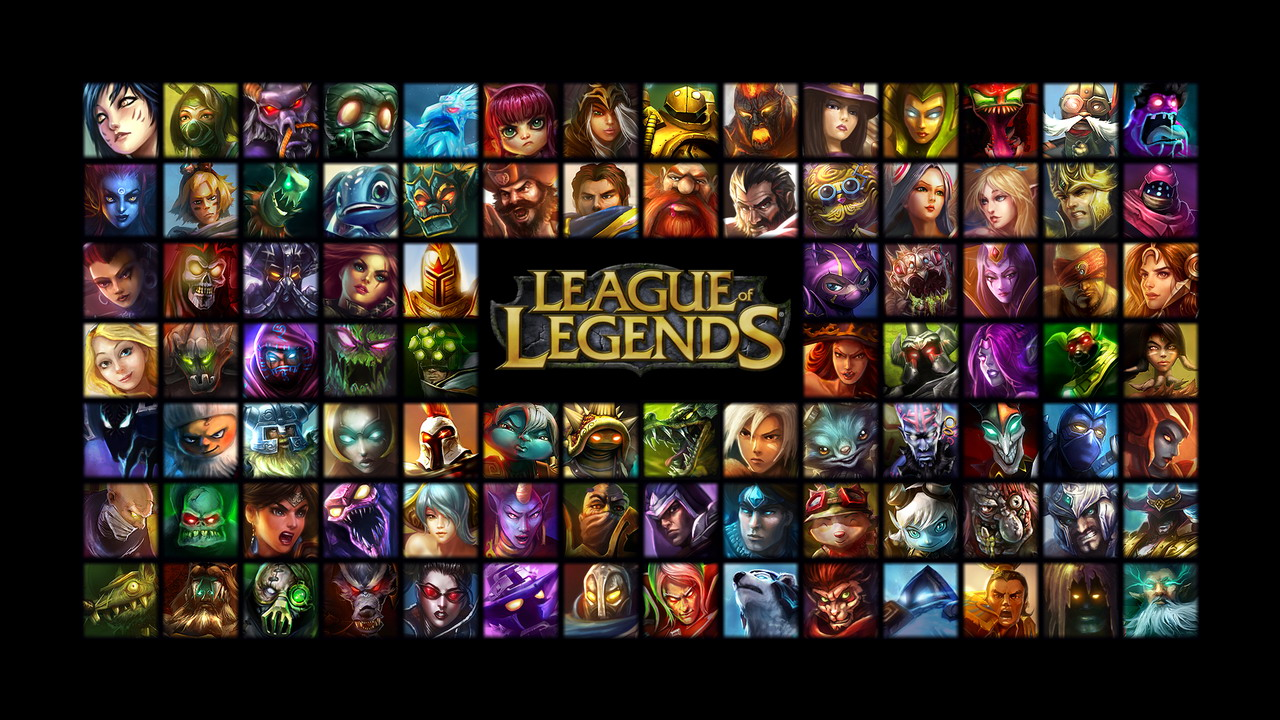 Consider, that league of legends all champions