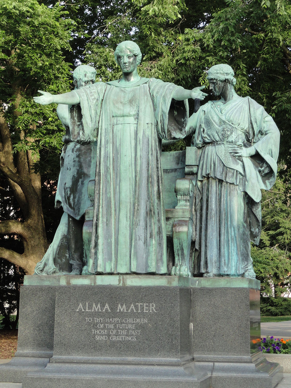 Alma Mater Illinois sculpture   Wikipedia 1200x1600