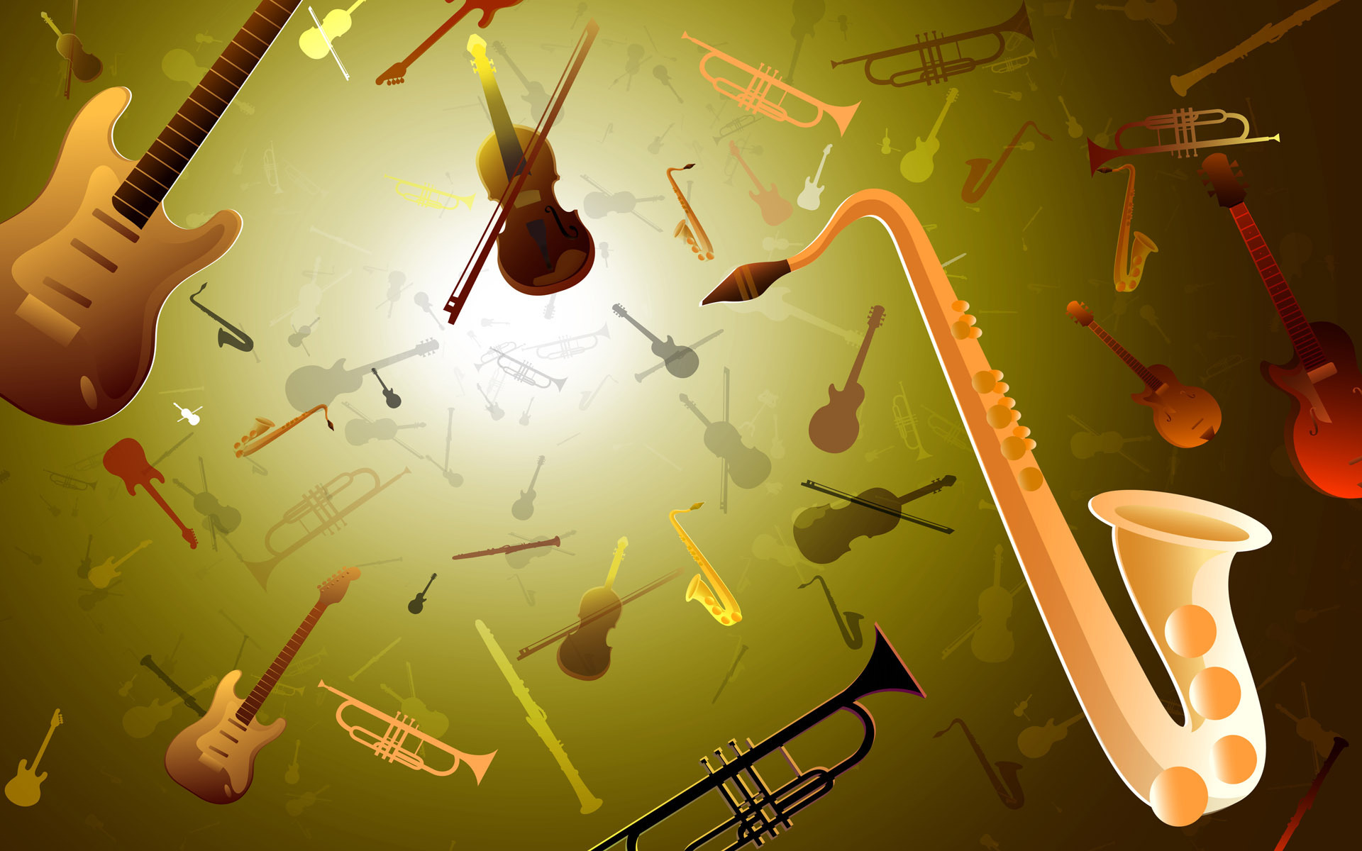 67 Musical Instrument Backgrounds On Wallpapersafari