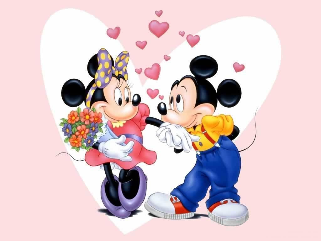 Mickey and Minnie Wallpaper   Disney Wallpaper 5561259 1024x768