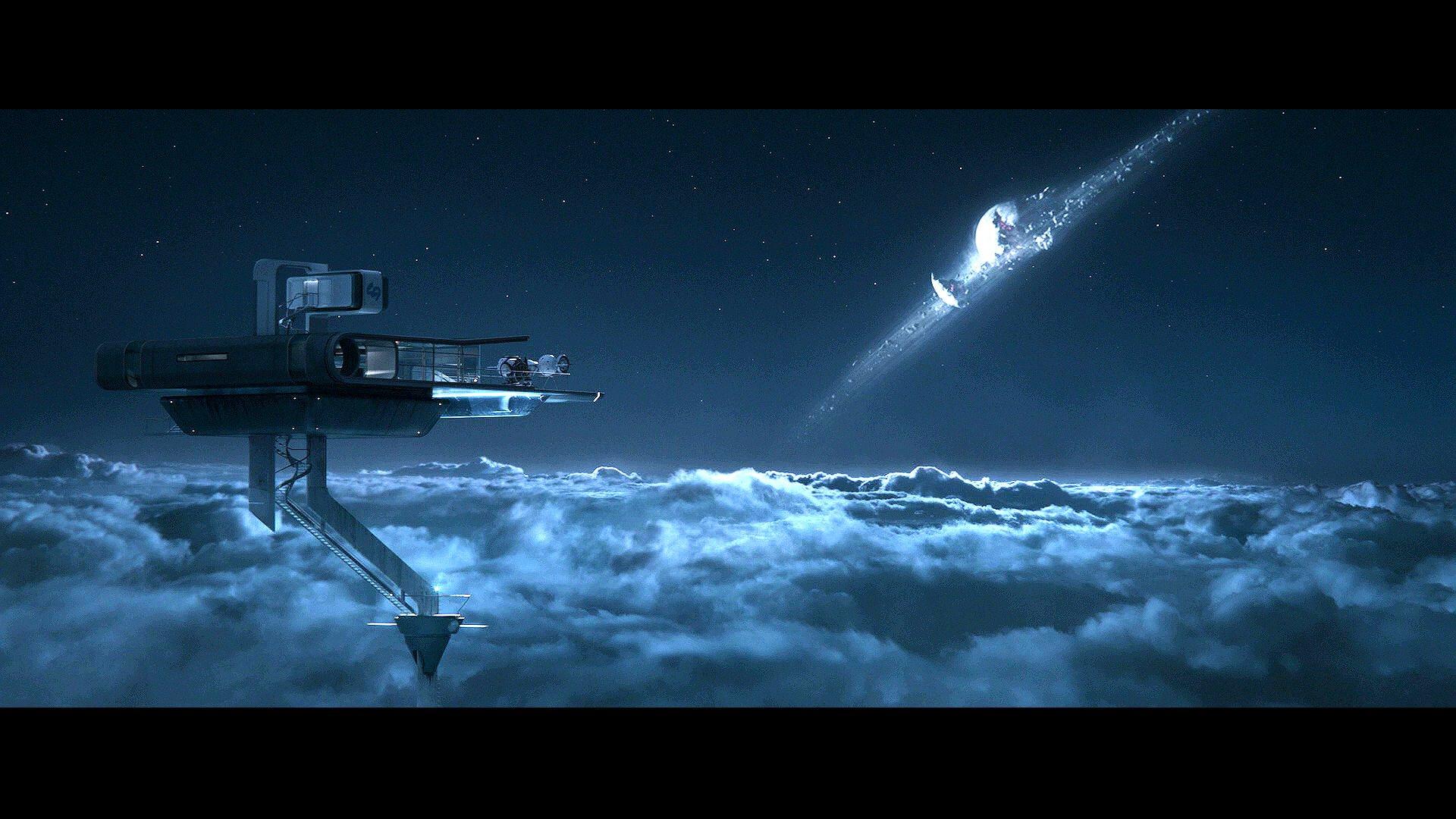 OBLIVION sci fi futuristic cruise science technics action 1920x1080