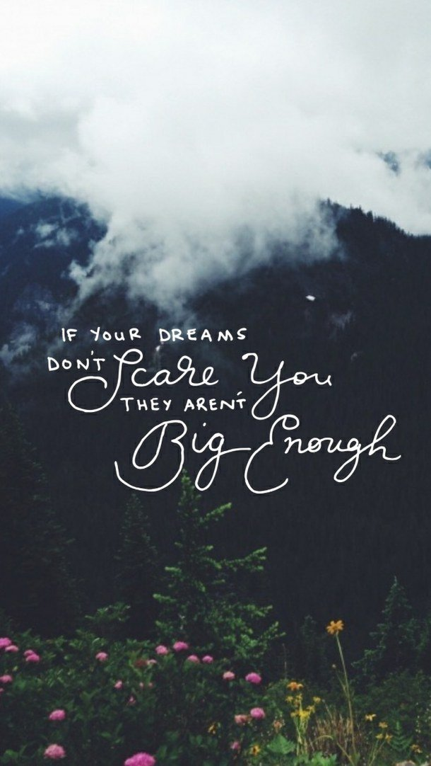 610x1082px Dream Big Wallpaper Wallpapersafari