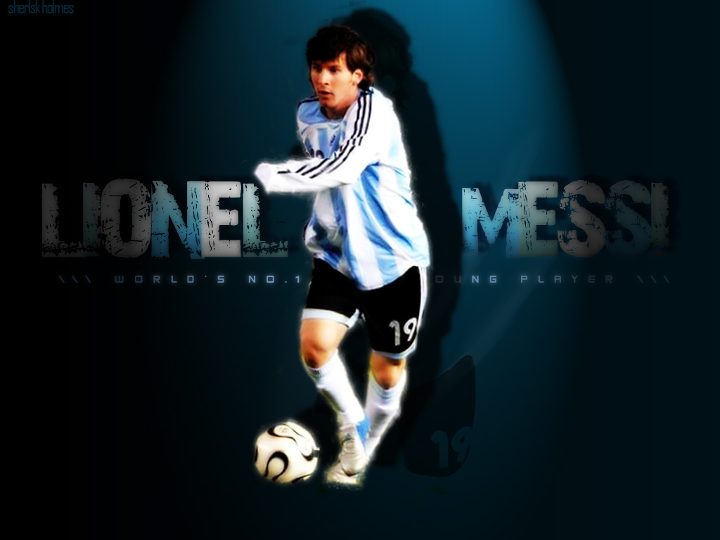 Lionel Messi Wallpapers HD   Spirit Players 1024x768