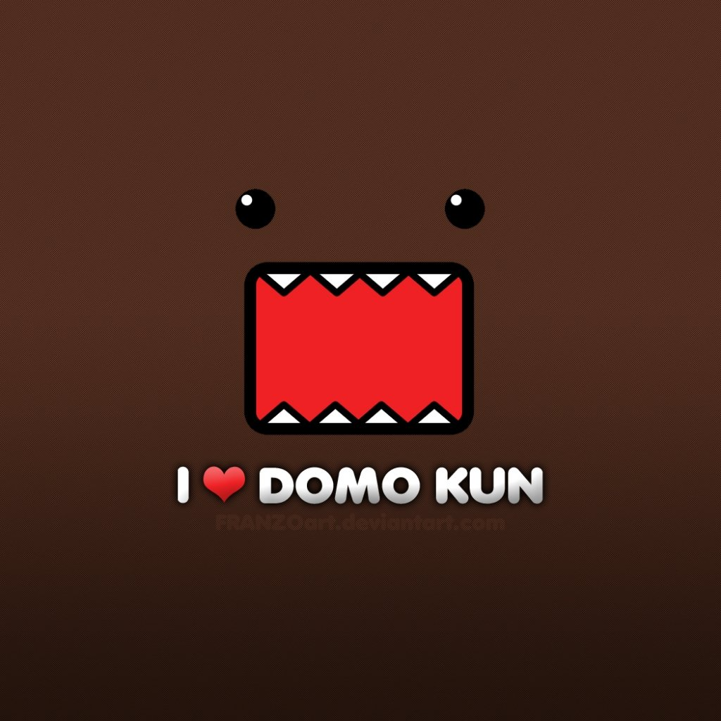 Domo Kun Wallpaper HD wallpaper background 1024x1024