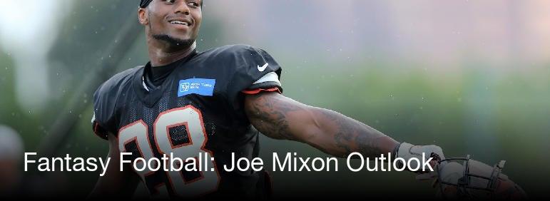 Fantasy Football Joe Mixon Outlook   CBSSportscom 1920x1080