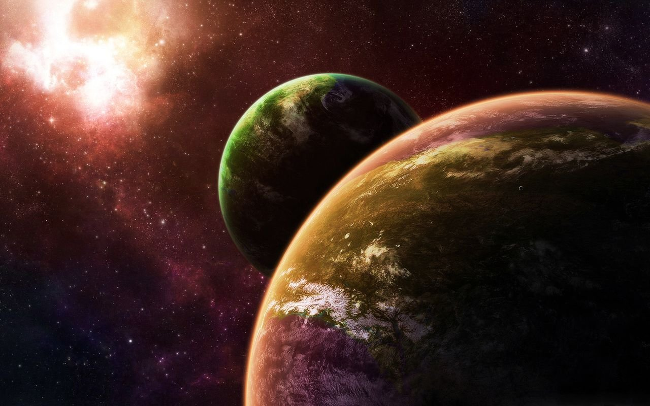 Space Wallpaper for tablet pc Asus Eee Pad 1280800 1280x800