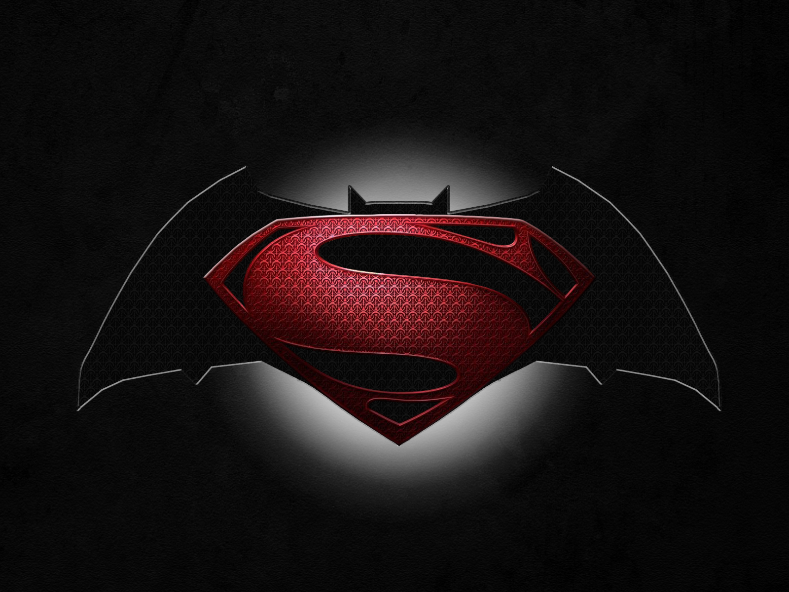 Cool Batman V Superman Symbol Wallpaper Wallpaper with 1600x1200 1600x1200