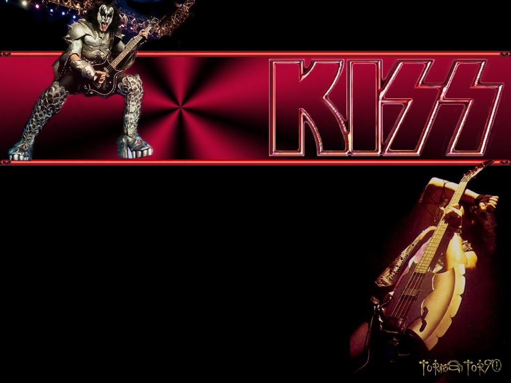 KISS Wallpaper 1024 x 768 1024x768