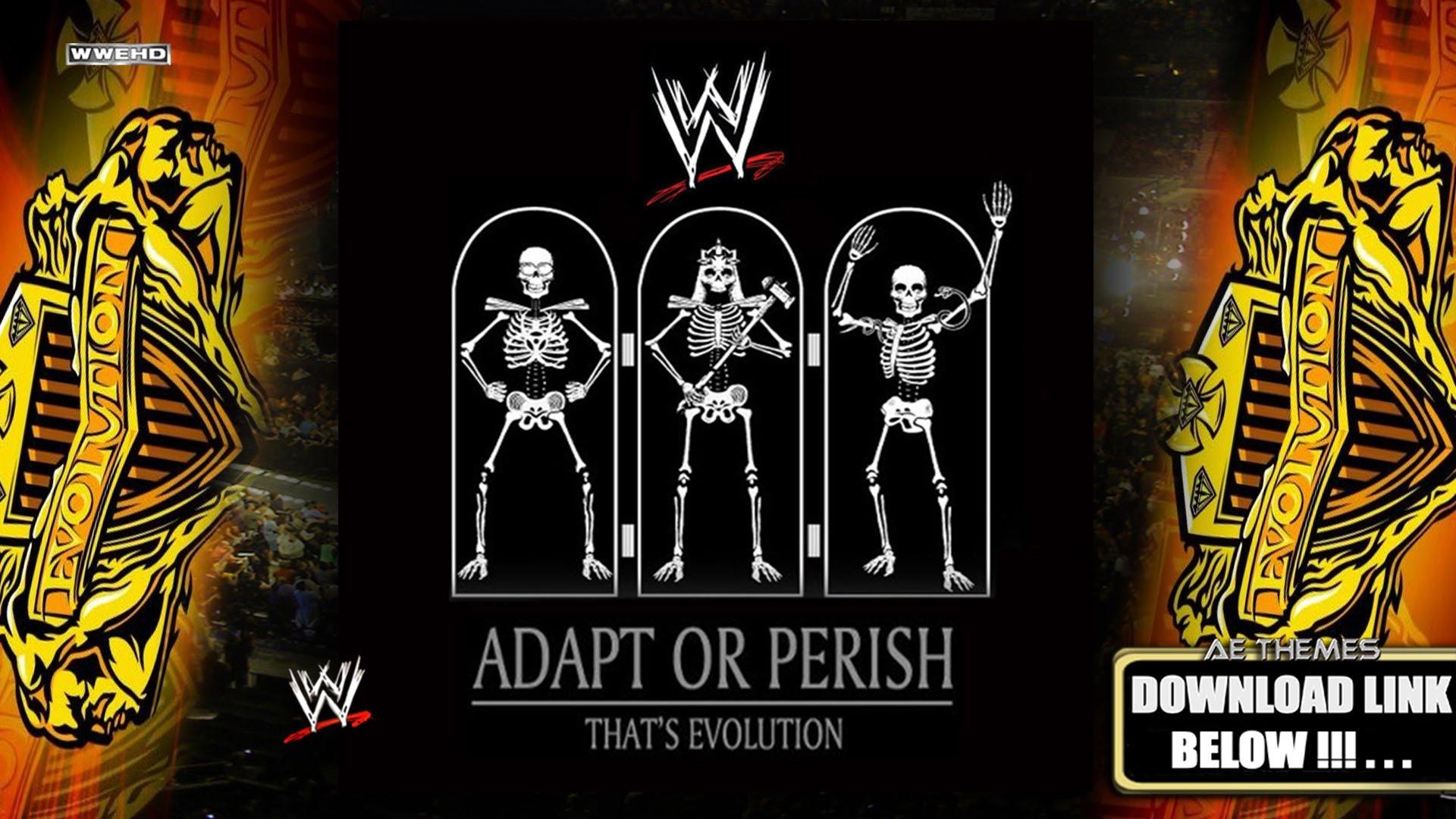 Download WWE Evolution [Adapt Or Perish] Arena Effect [Full Album 1920x1080