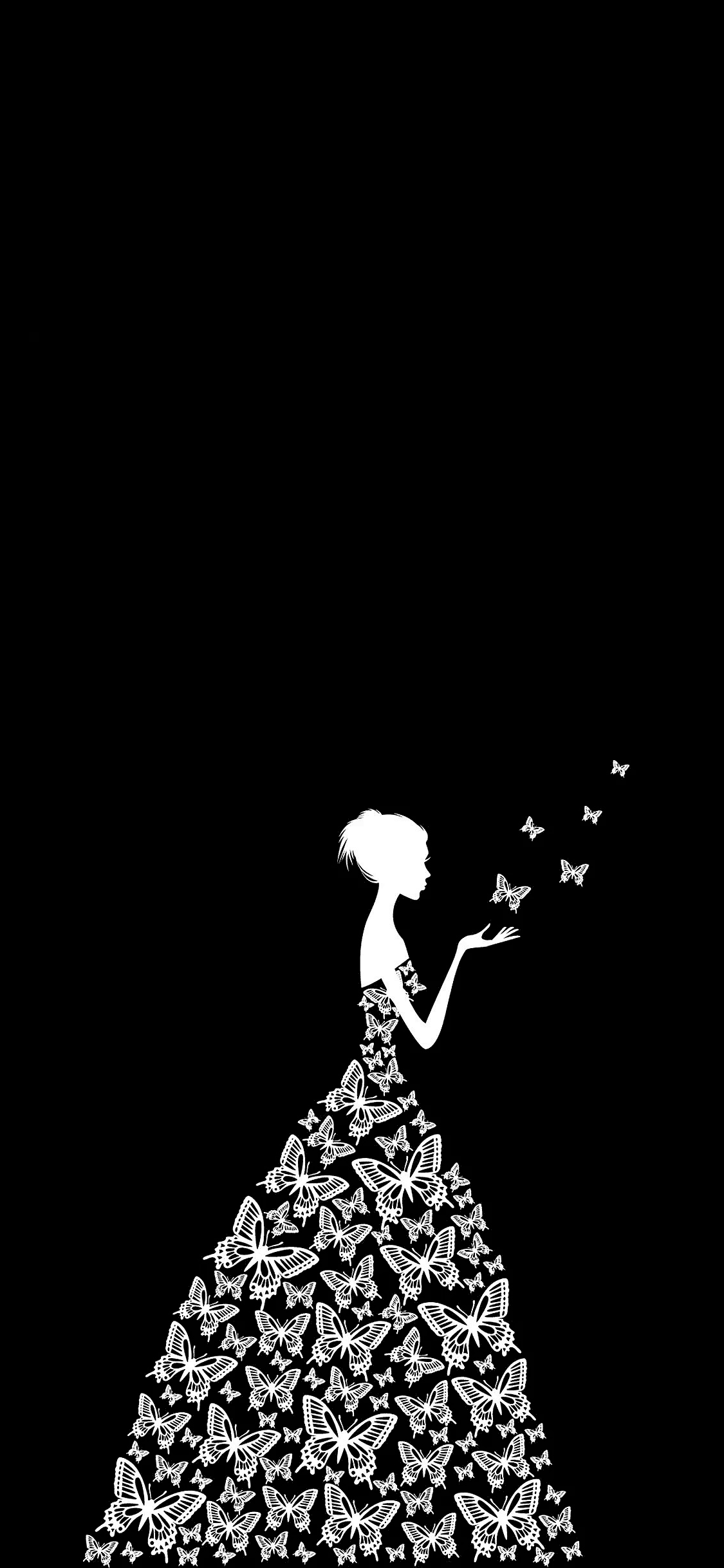 cool black wallpaper for iphone x