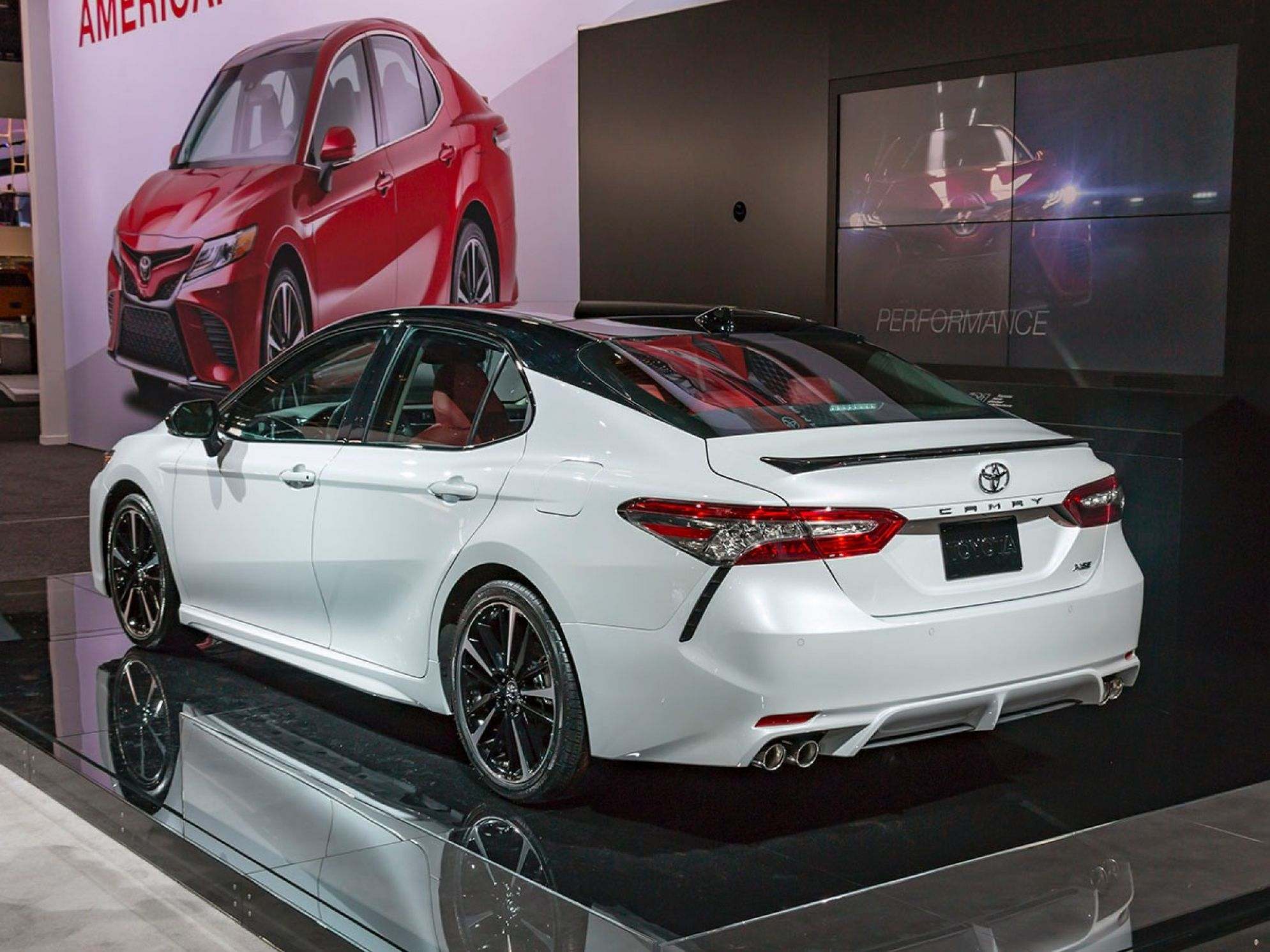All New 2018 Toyota Camry HD Wallpaper axbah Toyota camry 1989x1491